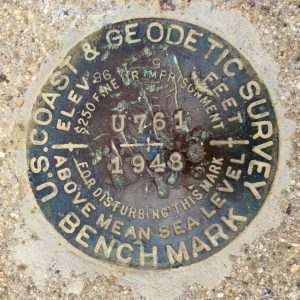 US Coast Survey Marker