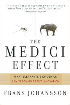The Medici Effect by Frans Johansson Book Cover